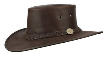Picture of Barmah Squashy Full Grain Leather 1026BR Hat