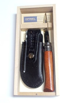 Picture of Pencil Case Opinel No8 SS Bubinga Handle TAW 200