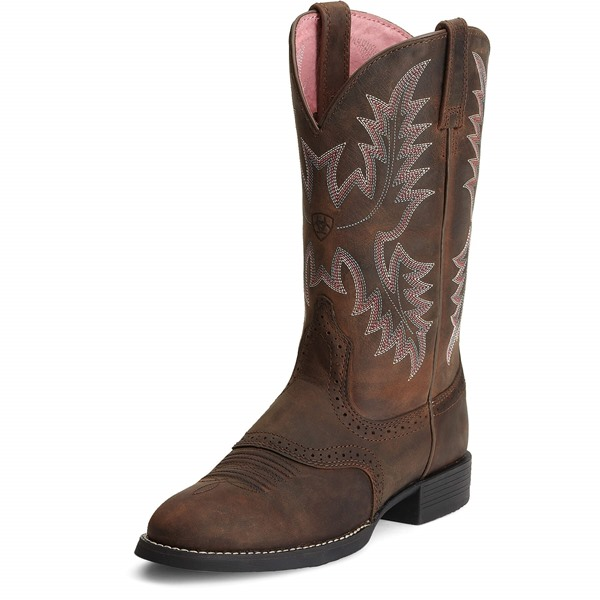 ARIAT WMS HERITAGE STOCKMAN FRONT