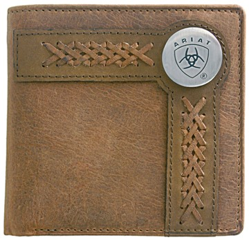 Picture of Ariat Bi Fold Wallet - Chestnut