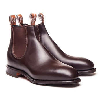 Black RM Williams Blaxland Boot