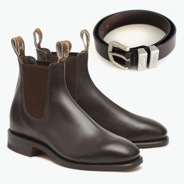 Chestnut RM Williams Craftsman Boot