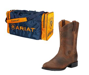 Picture of Ariat Mens Heritage Roper and Gear Bag Bundle