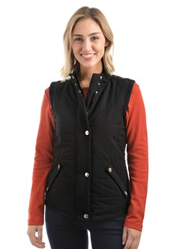 Picture of THOMAS COOK WOMENS BLACK HAWKESBURY RIVER VEST