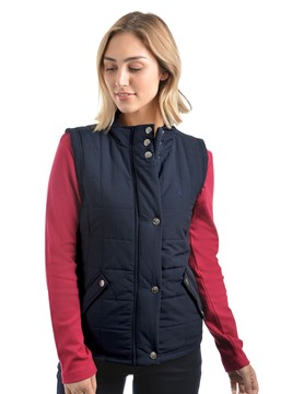 Picture of THOMAS COOK WOMENS NAVY HAWKESBURY RIVER VEST