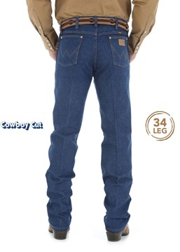 Picture of WRANGLER  MENS COWBOY CUT ORIGINAL FIT JEAN 34 LEG