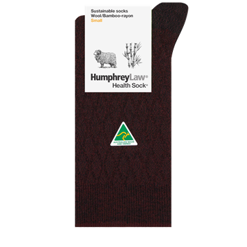 Picture of Humphrey Law - Sustainable Wool/Bamboo Blend Sock