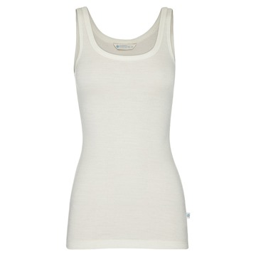 Picture of Woolerina Womens Singlet Natural