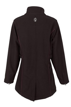 Picture of Outback Trading Ladies Violet Softshell Coat Black