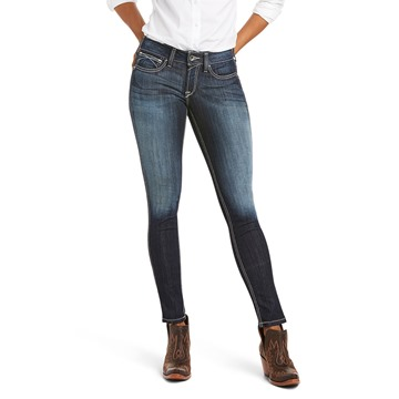 Picture of Ariat Womens R.E.A.L.™ Ella Mid Rise Skinny Jean Celestial
